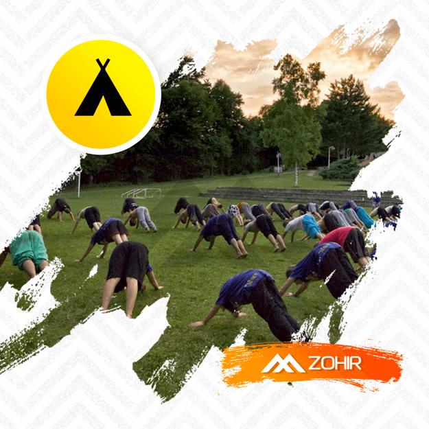 Obrázek z ZOHIR Camp 2019 Landštejn 3. turnus - Letní parkourové soustředění (10-13 let)