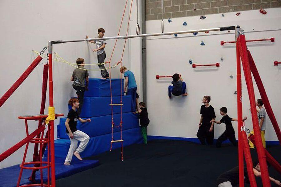 Parkour Liberec - kroužek pro děti