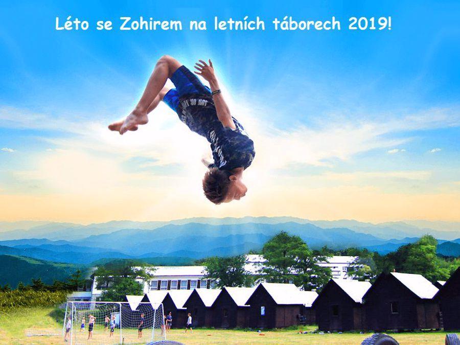 Užij si léto se Zohirem na letních táborech 2019!