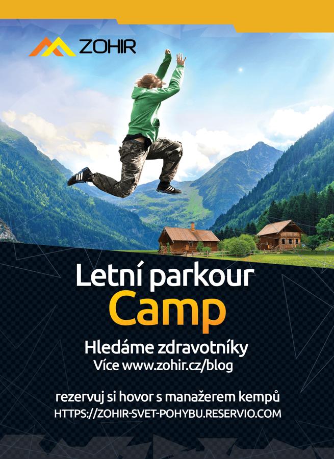 Hledáme zdravotníky na letní Zohir Campy 2021